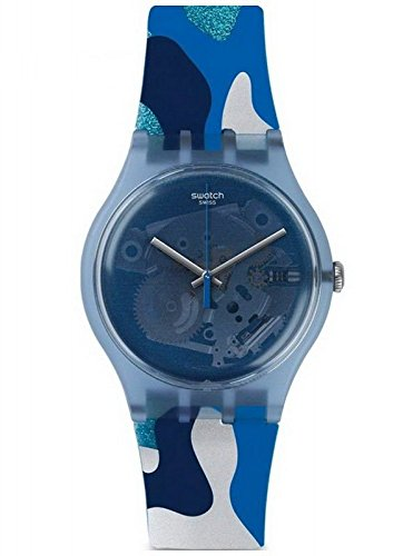 スウォッチ 腕時計 レディース 夏の腕時計特集 SUOZ215 【送料無料】Swatch Club SUOZ215 Originals New Gent Silverscape Unisex Watchスウォッチ 腕時計 レディース 夏の腕時計特集 SUOZ215