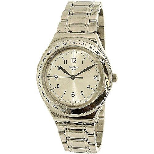 腕時計 スウォッチ レディース 夏の腕時計特集 YGS471G 【送料無料】Swatch Women's Silver Joe YGS471G Silver Stainless-Steel Swiss Quartz Watch腕時計 スウォッチ レディース 夏の腕時計特集 YGS471G