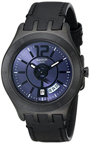 スウォッチ 腕時計 メンズ YTB400 【送料無料】Swatch Men's YTB400 Quartz Date Black Dial Resin Watchスウォッチ 腕時計 メンズ YTB400