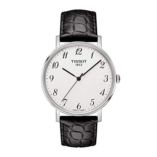 ティソ 腕時計 メンズ T109.410.16.032.00 【送料無料】Tissot T-Classic Everytime Leather Men's Watch T1094101603200ティソ 腕時計 メンズ T109.410.16.032.00