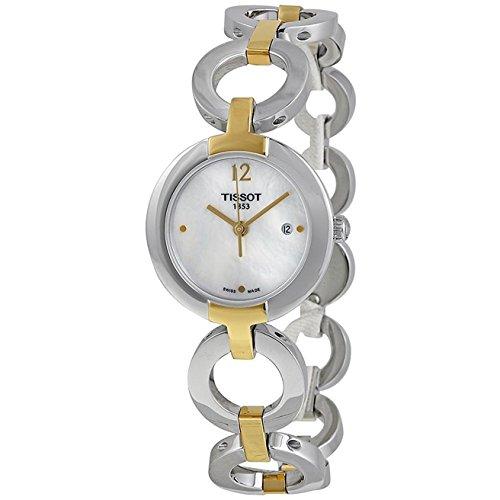 ティソ 腕時計 レディース T0842102211700 Tissot Pinky Two-Tone White Quartz Women's watch #T084.210.22.117.00ティソ 腕時計 レディース T0842102211700