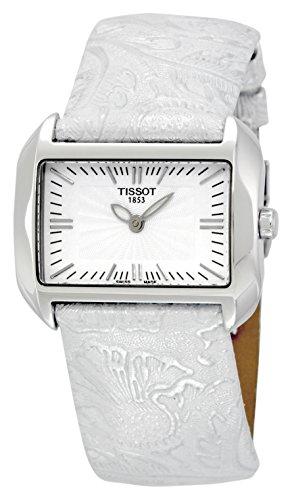 ティソ 腕時計 レディース T023.309.16.031.02 【送料無料】Tissot Women's T023.309.16.031.02 T-Wave White Dial Leather Strap Watchティソ 腕時計 レディース T023.309.16.031.02