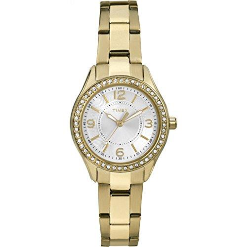 タイメックス 腕時計 レディース TW2P80100 Timex Women's TW2P80100 Miami Mini Gold-Tone Stainless Steel Bracelet Watchタイメックス 腕時計 レディース TW2P80100