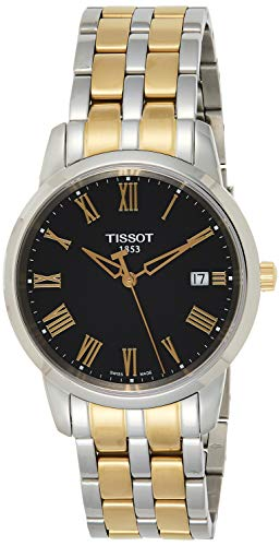 ティソ 腕時計 メンズ T0334102205301 【送料無料】Tissot Men's T0334102205301 Classic Dream Analog Display Swiss Quartz Two Tone Watchティソ 腕時計 メンズ T0334102205301
