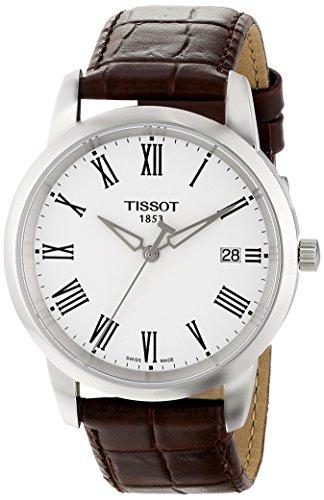 ティソ 腕時計 メンズ T0334101601301 Tissot Men's T0334101601301 Classic Dream Watch With Leather Bandティソ 腕時計 メンズ T0334101601301