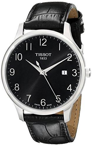 ティソ 腕時計 メンズ T0636101605200 【送料無料】Tissot Men's T0636101605200 T-Classic Analog Display Quartz Black Watchティソ 腕時計 メンズ T0636101605200