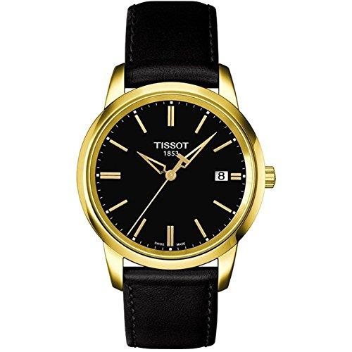 ティソ 腕時計 メンズ T0334103605101 【送料無料】Tissot Classic Dream Black Dial Black Leather Men's T0334103605101ティソ 腕時計 メンズ T0334103605101