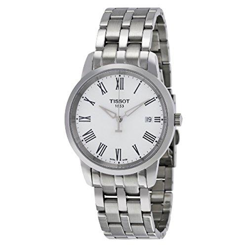 ティソ 腕時計 メンズ t0334101101301 【送料無料】Tissot T0334101101301 Watches Classic Dream White DIALティソ 腕時計 メンズ t0334101101301