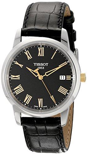 ティソ 腕時計 メンズ TIST0334102605301 【送料無料】Tissot Men's TIST0334102605301 Class Dream Analog Display Swiss Quartz Black Watchティソ 腕時計 メンズ TIST0334102605301
