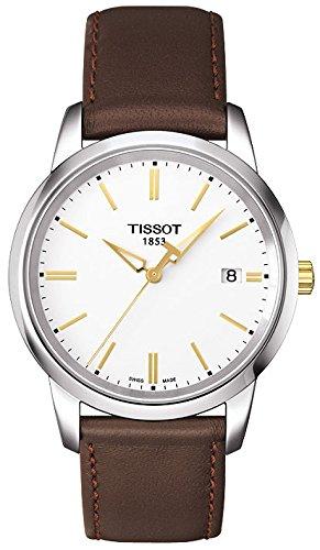 ティソ 腕時計 メンズ T0334102601101 【送料無料】Tissot Men's Dream T033.410.26.011.01 Brown Leather Swiss Quartz Watchティソ 腕時計 メンズ T0334102601101