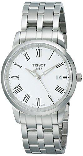 ティソ 腕時計 メンズ T0334101101300 Tissot Men s T0334101101300 Dream White Dial silver Watchティソ 腕時計 メンズ T0334101101300