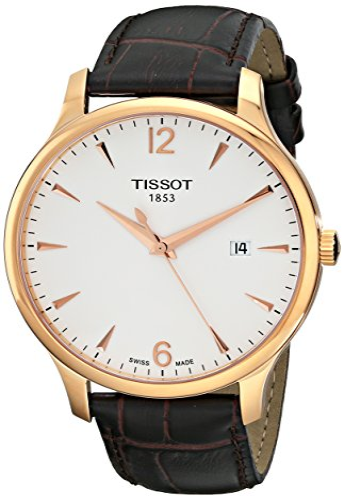 ティソ 腕時計 メンズ TIST0636103603700 【送料無料】Tissot Men's T0636103603700 Analog Quartz Brown Leather Strap Silver Dial Watchティソ 腕時計 メンズ TIST0636103603700