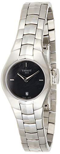 ティソ 腕時計 レディース T096.009.11.121.00 Tissot T0960091112100 T-Round Ladies Watch - Black Dialティソ 腕時計 レディース T096.009.11.121.00