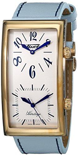 ティソ 腕時計 メンズ T56.5.633.39 Tissot Men's T56.5.633.39 Heritage Ivory Dial Leather Strap Watchティソ 腕時計 メンズ T56.5.633.39