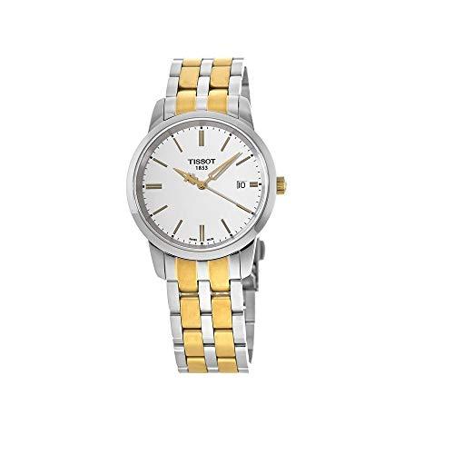 """ティソ 腕時計 メンズ T0334102201101 【送料無料】TISSOT T0334102201101 Classic Dream Men""""s White Quartz Classic Watchティソ 腕時計 メンズ T0334102201101"""