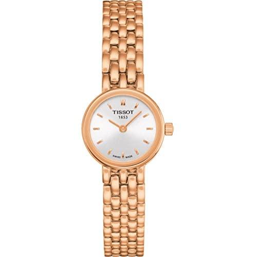 ティソ 腕時計 レディース 【送料無料】Tissot Lovely Silver Dial Ladies Watch T058.009.33.031.01ティソ 腕時計 レディース