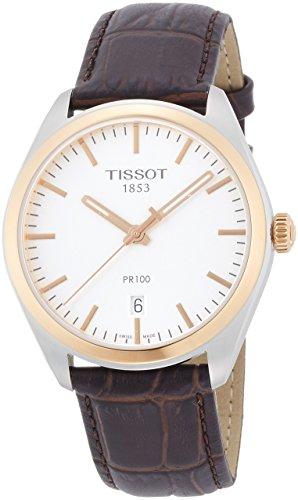 ティソ 腕時計 メンズ T1014102603100 【送料無料】Tissot Men's T1014102603100 Analog Display Quartz Brown Watchティソ 腕時計 メンズ T1014102603100