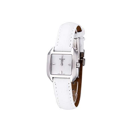 ティソ 腕時計 レディース T02125571 【送料無料】Tissot Women's T-Wave White LeatherStrap Watchティソ 腕時計 レディース T02125571