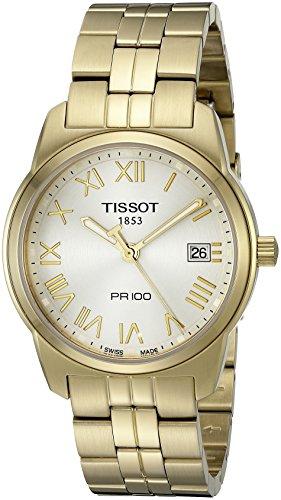 ティソ 腕時計 メンズ T0494103303300 Tissot Men's T0494103303300 PR100 Silver Dial Watchティソ 腕時計 メンズ T0494103303300