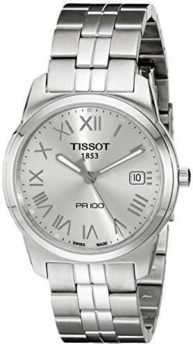 ティソ 腕時計 メンズ T0494101103301 【送料無料】Tissot Men's T0494101103301 Stainless Steel Analog with Stainless Steel Bezel Watchティソ 腕時計 メンズ T0494101103301