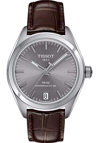 ティソ 腕時計 レディース 【送料無料】Tissot PR PR PR 100 Automatic Rhodium Dial Ladies Watch T101.207.16.071.00ティソ 腕時計 レディース 3a1