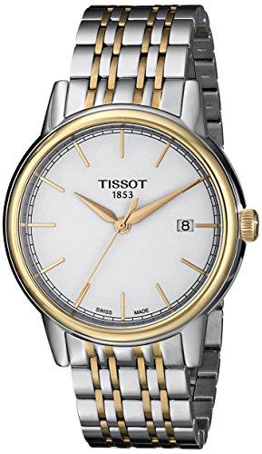 腕時計 ティソ メンズ T0854102201100 【送料無料】Tissot Men's T0854102201100 Analog Display Quartz Two Tone Watch腕時計 ティソ メンズ T0854102201100