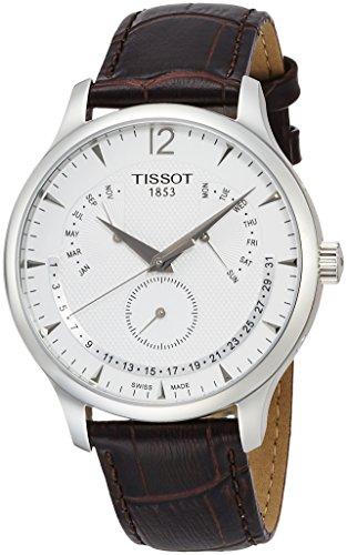 ティソ 腕時計 メンズ T0636371603700 【送料無料】Tissot Mens Perpetual Calendar Tradition Watch T063.637.16.037.00ティソ 腕時計 メンズ T0636371603700