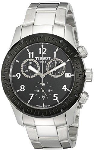 ティソ 腕時計 メンズ T0394172105700 【送料無料】Tissot Men's T0394172105700 V8 Analog Display Swiss Quartz Silver Watchティソ 腕時計 メンズ T0394172105700