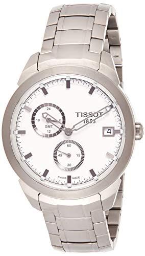 ティソ 腕時計 メンズ T0694394403100 Tissot Men's TIST0694394403100 Titanium GMT Watchティソ 腕時計 メンズ T0694394403100