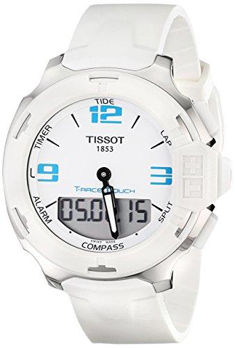 ティソ 腕時計 メンズ T0814201701701 【送料無料】Tissot Men's T0814201701701 Analog Display Quartz White Watchティソ 腕時計 メンズ T0814201701701
