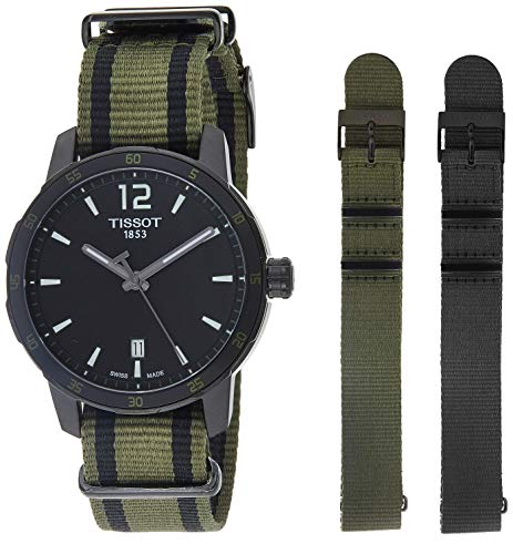 腕時計 ティソ メンズ T0954103705700 【】Tissot Men's T0954103705700 Analog Display Quartz Black Watch腕時計 ティソ メンズ T0954103705700:angelica