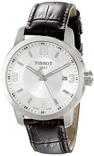 ティソ 腕時計 メンズ TIST0554101603700 【送料無料】Tissot Men's TIST0554101603700 PRC 200 Analog Display Swiss Quartz Brown Watchティソ 腕時計 メンズ TIST0554101603700