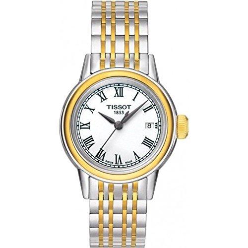 ティソ 腕時計 レディース T0852102201300 【送料無料】Tissot Carson Quartz Two-Tone Stainless Steel Women's watch #T085.210.22.013.00ティソ 腕時計 レディース T0852102201300