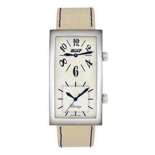 腕時計 ティソ メンズ Heritage 【送料無料】Tissot Heritage White Cream Dial Men's Watch #T56.1.613.79腕時計 ティソ メンズ Heritage