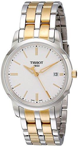 ティソ 腕時計 メンズ T0334102201101 【送料無料】Tissot Men's T0334102201101 Classic Dream Analog Display Quartz Two Tone Watchティソ 腕時計 メンズ T0334102201101