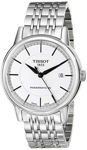 ティソ 腕時計 メンズ T0854071101100 【送料無料】Tissot Men's T0854071101100 T Classic Powermatic Analog Display Swiss Automatic Silver Watchティソ 腕時計 メンズ T0854071101100
