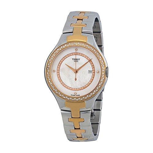 ティソ 腕時計 レディース TIST0822106211600 Tissot Women's TIST0822106211600 T12 Analog Display Swiss Quartz Two Tone Watchティソ 腕時計 レディース TIST0822106211600