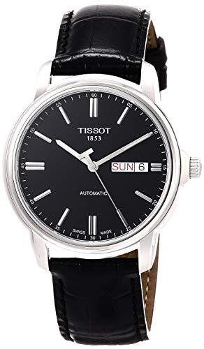 ティソ 腕時計 メンズ T0654301605100 【送料無料】Tissot Men's T0654301605100 Analog Display Swiss Automatic Black Watchティソ 腕時計 メンズ T0654301605100