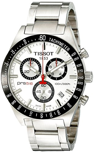ティソ 腕時計 メンズ T044.417.21.031.00 Tissot T-Sport PRS516 Chronograph Brushed Silver Dial Men's Watch #T044.417.21.031.00ティソ 腕時計 メンズ T044.417.21.031.00