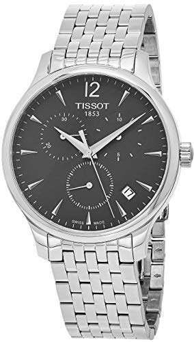 ティソ 腕時計 メンズ T0636171106700 【送料無料】Tissot Men's T063.617.11.067.00 Stainless Steel Bracelet Chronograph Watch with Gray Dial and Dateティソ 腕時計 メンズ T0636171106700