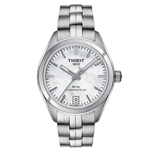 ティソ 腕時計 レディース T101.207.11.116.00 Tissot PR 100 Mother of Pearl Dial Stainless Steel Ladies Watch T1012071111600ティソ 腕時計 レディース T101.207.11.116.00