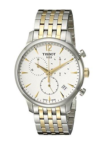 ティソ 腕時計 メンズ T0636172203700 【送料無料】Tissot Men's T0636172203700 Tradition Analog Display Swiss Quartz Two Tone Watchティソ 腕時計 メンズ T0636172203700
