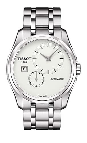 腕時計 ティソ メンズ T0354281103100 【送料無料】Tissot Men's T0354281103100 Couturier Analog Display Swiss Automatic Silver Watch腕時計 ティソ メンズ T0354281103100
