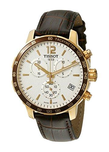 腕時計 ティソ メンズ T0954173603700 【送料無料】Tissot Men's T0954173603700 Analog Display Swiss Quartz Brown Watch腕時計 ティソ メンズ T0954173603700