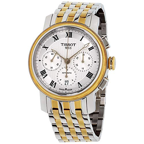 ティソ 腕時計 メンズ T0974272203300 【送料無料】Tissot Men's Bridgeport Swiss-Automatic Watch with Stainless-Steel Strap, Two Tone, 20 (Model: T0974272203300)ティソ 腕時計 メンズ T0974272203300