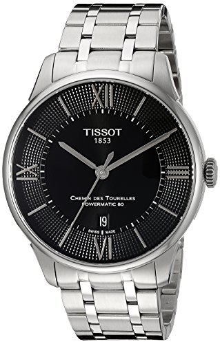 ティソ 腕時計 メンズ T0994071105800 【送料無料】Tissot Men's T0994071105800 Chemin Des Tourelles Powermatic 80 Analog Display Swiss Automatic Silver-Tone Watchティソ 腕時計 メンズ T0994071105800