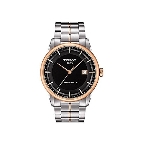 ティソ 腕時計 メンズ T0864072205100 【送料無料】Tissot Men's T0864072205100 Luxury Analog Display Swiss Automatic Two Tone Watchティソ 腕時計 メンズ T0864072205100