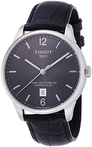 "ティソ 腕時計 メンズ T0994071644700 【送料無料】Tissot Men""s T0994071644700 Chemin Des Tourelles Powermatic 81 Analog Display Swiss Automatic Black Watchティソ 腕時計 メンズ T0994071644700"