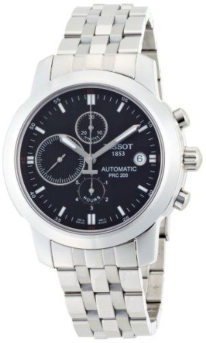ティソ 腕時計 メンズ T0144271105100 【送料無料】Tissot Men's T0144271105100 T-Sport PRC 200 Stainless Steel Black Dial Watchティソ 腕時計 メンズ T0144271105100