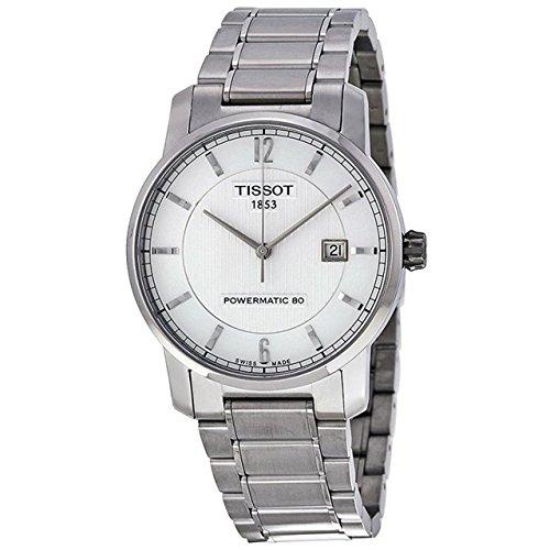 ティソ 腕時計 メンズ T087.407.44.037.00 【送料無料】Tissot T-Classic Automatic Silver Dial Mens Watch T0874074403700ティソ 腕時計 メンズ T087.407.44.037.00